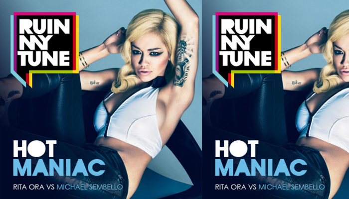 Rita Ora vs Michael Sembello – Hot Maniac (RUINMYTUNE MashUp)