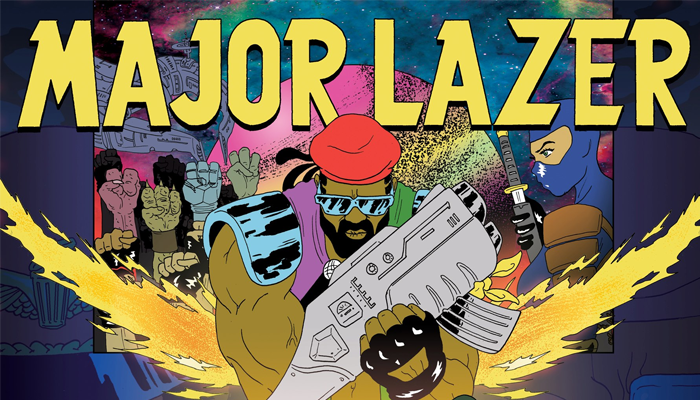 Major Lazer – Bubble Butt (DJ Snake Remix)
